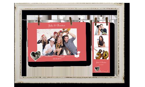 Bilder direkt an der Fotobox ausdrucken